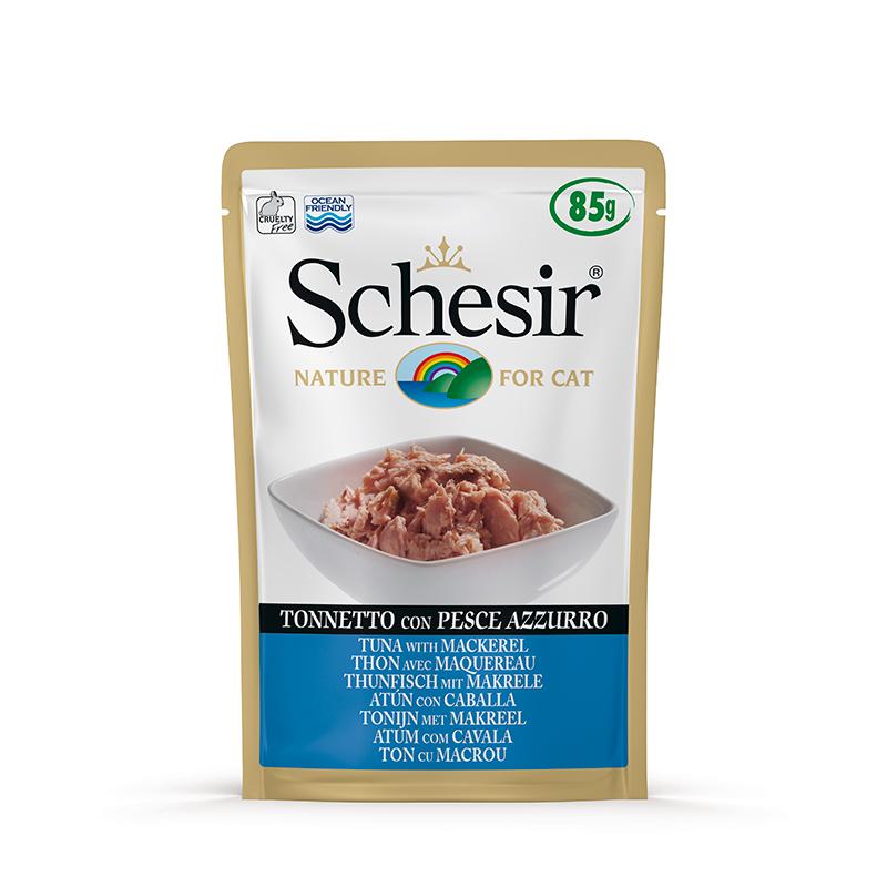 Schesir Tuna with Mackerel Pouch