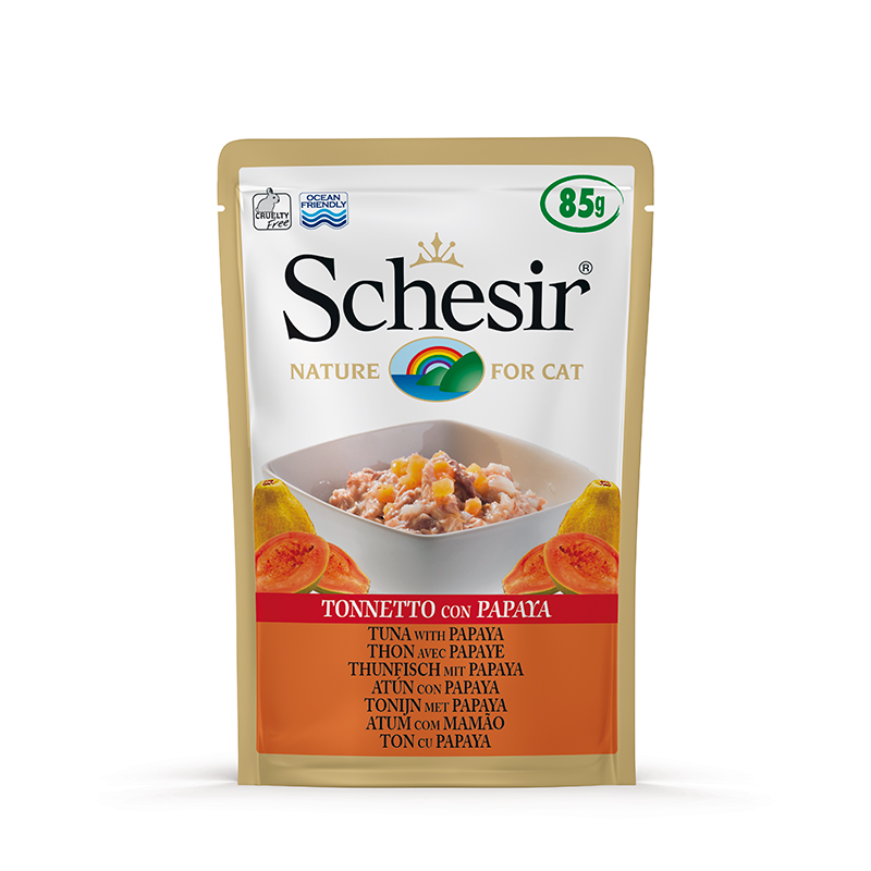 Schesir Tuna with Papaya Pouch