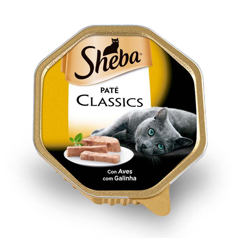 Sheba Single Classic Chicken Wet cat food