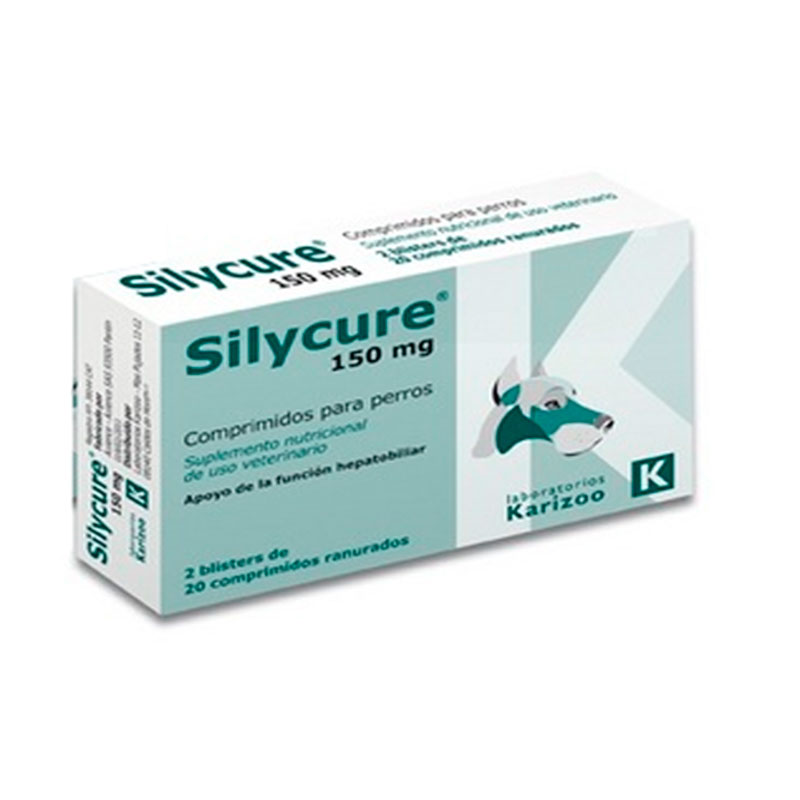 Silycure 150mg Hepatic Protector for Dogs and Cats Karizoo