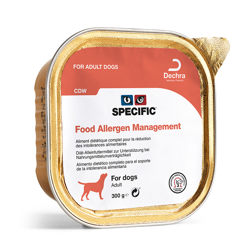 Specific CDW Food allergy management dieta para perros 300