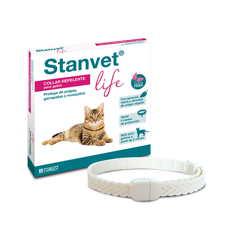 Stanvet Life Collar Repulsivo Natural para Gatos