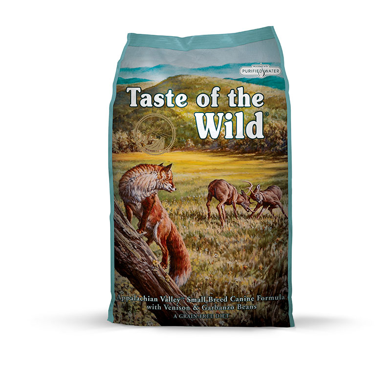 ​Taste of the Wild Appalachian Valley with Venisson and Chickpeas Small Breeds