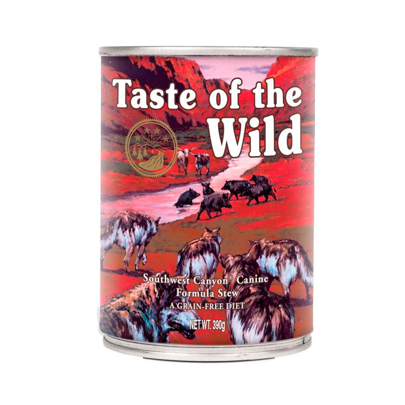 Taste of The Wild Southwest Canyon Canine. Wet food for Dogs