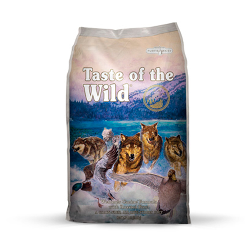 Taste of the Wild Wetlands con Pato, Pavo y Codorniz Canine