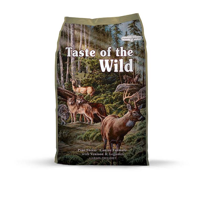 ​Taste of the Wild Pine Forest with Venisson and Legumes Canine 12,7kg