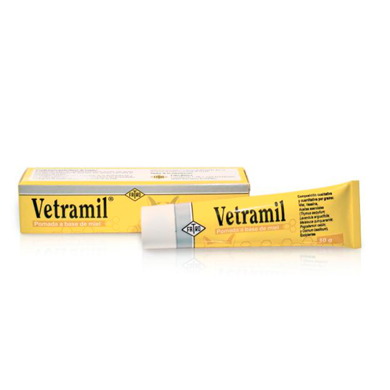 Vetramil Healing Ointment for Dogs, Cats and Horses 30gr Fatro