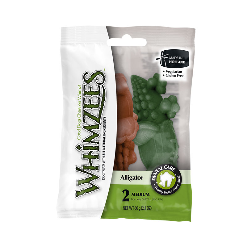 Whimzees Dental Snack Alligator M