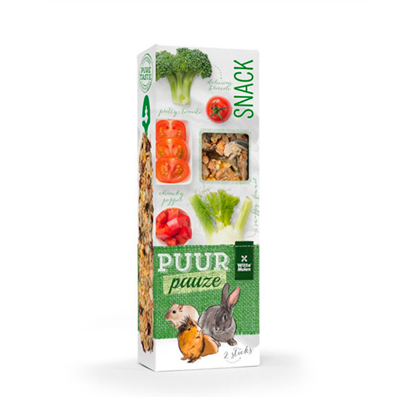Witte Molen Puur Rodents Bars Tomato and Broccoli