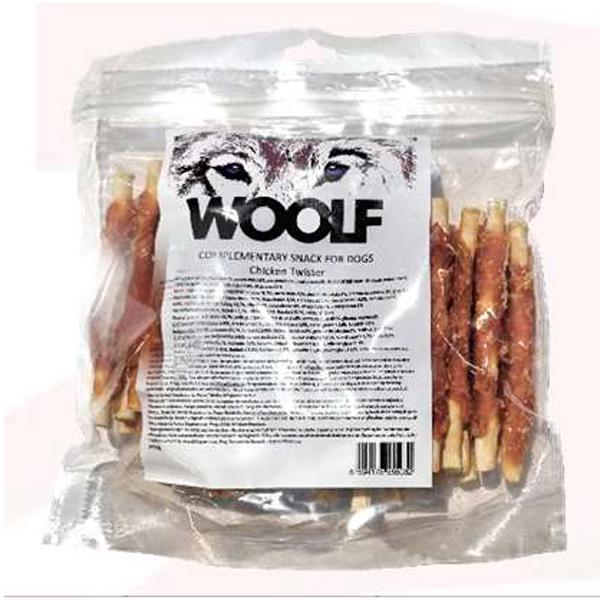 Woolf Chicken Rolled Dog Treats