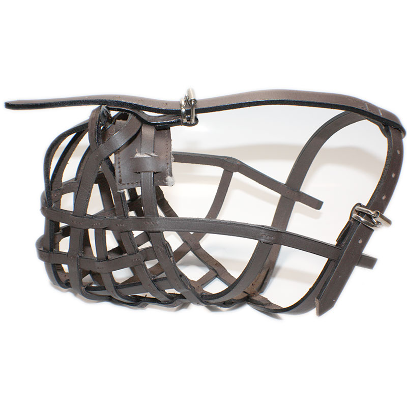 Leather Muzzle Budapest Brown