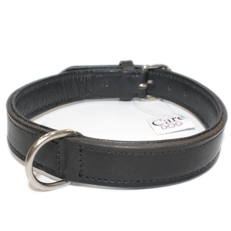 Collar Leather Viena Black