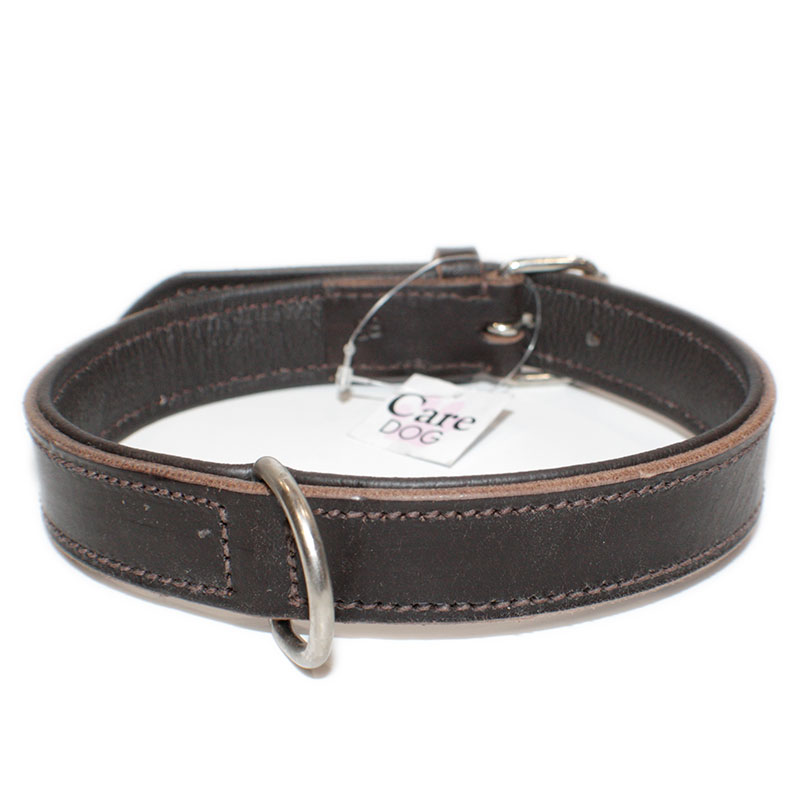 Collar Leather Viena Brown