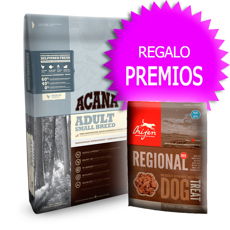 Pienso Acana Adult Small Breed Heritage