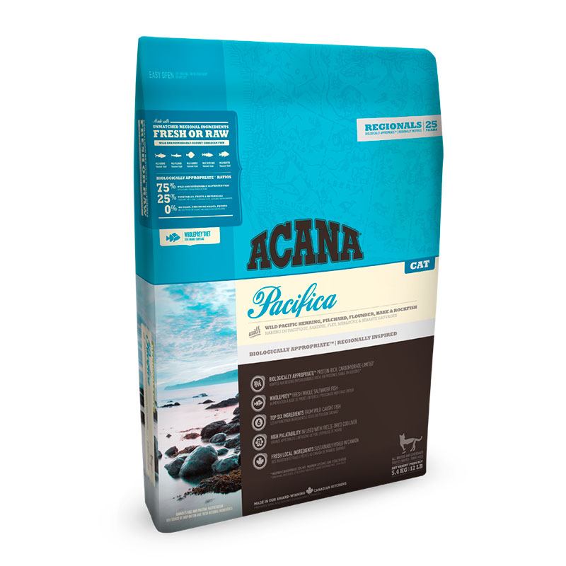 Acana Pacifica feed for cats