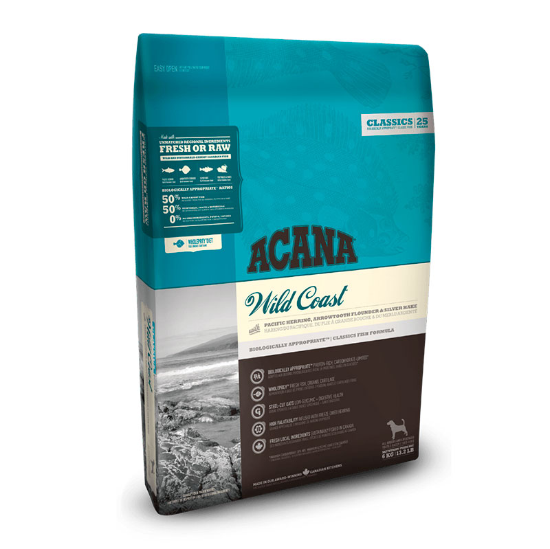 Acana Wild Coast feed for adult dogs
