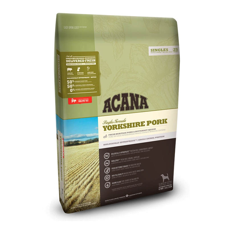 Acana Yorkshire Pork feed for dogs