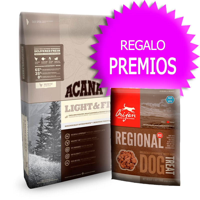 Pienso Acana Light & Fit Heritage