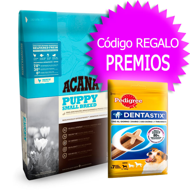 Pienso Acana Puppy Small Breed Heritage 6Kg+Cupón