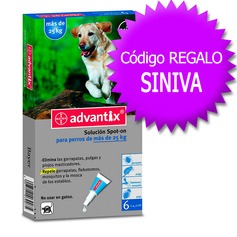 Advantix External Antiparasitic +25Kg+Coupon
