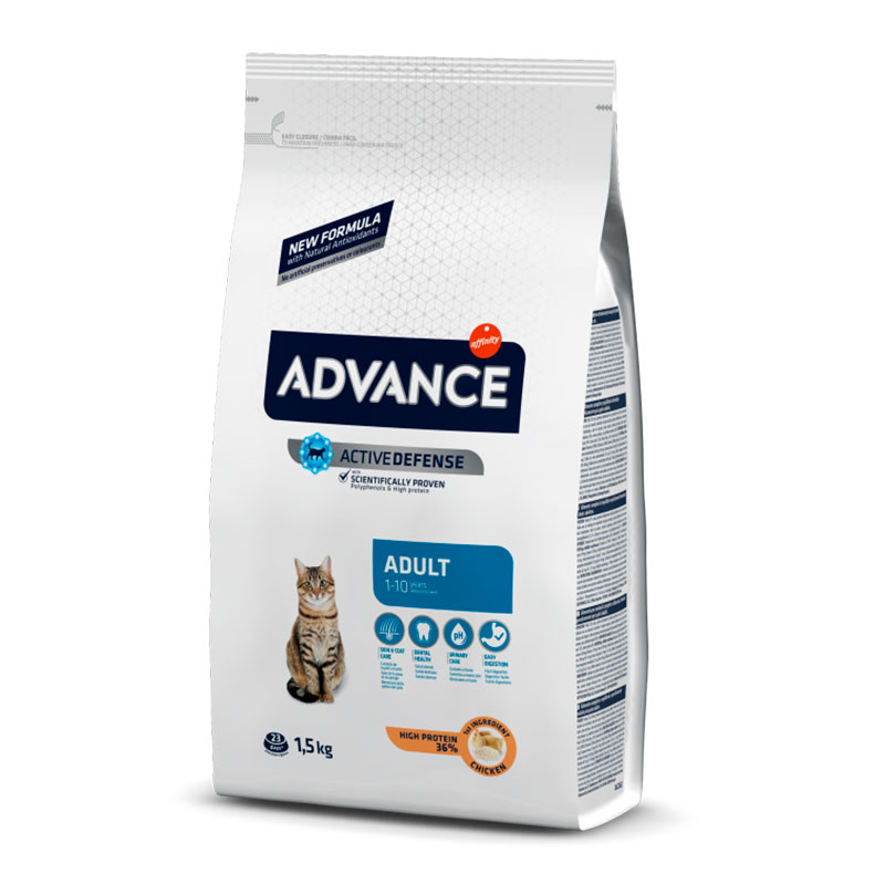 Advance Gato Adulto con Pollo y Arroz