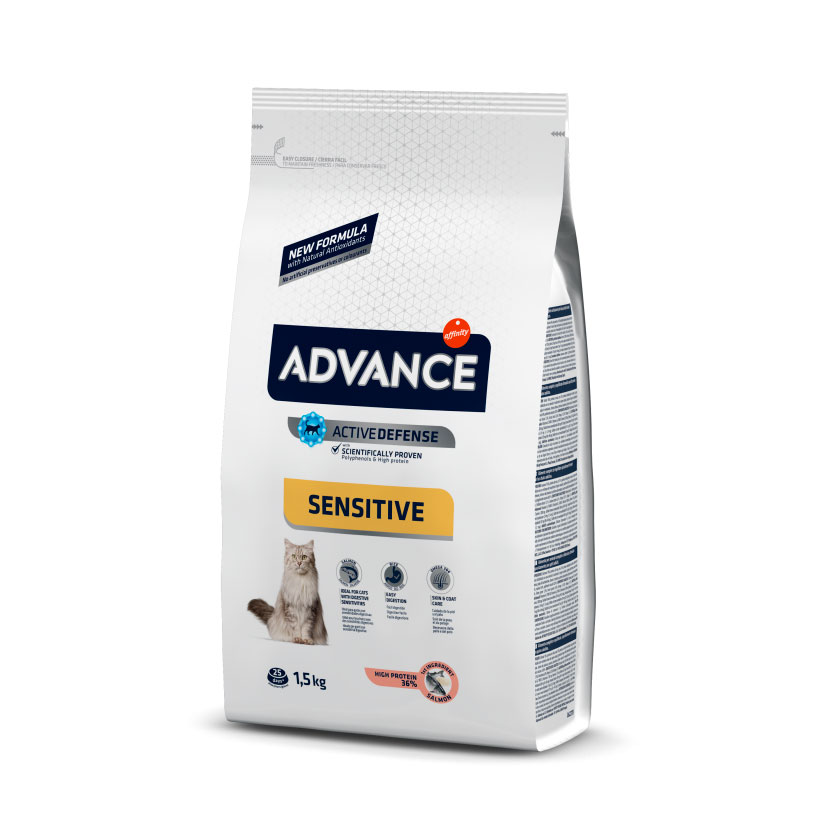 Advance Cat Adult Sensitive with Salmon & Rice 3kg