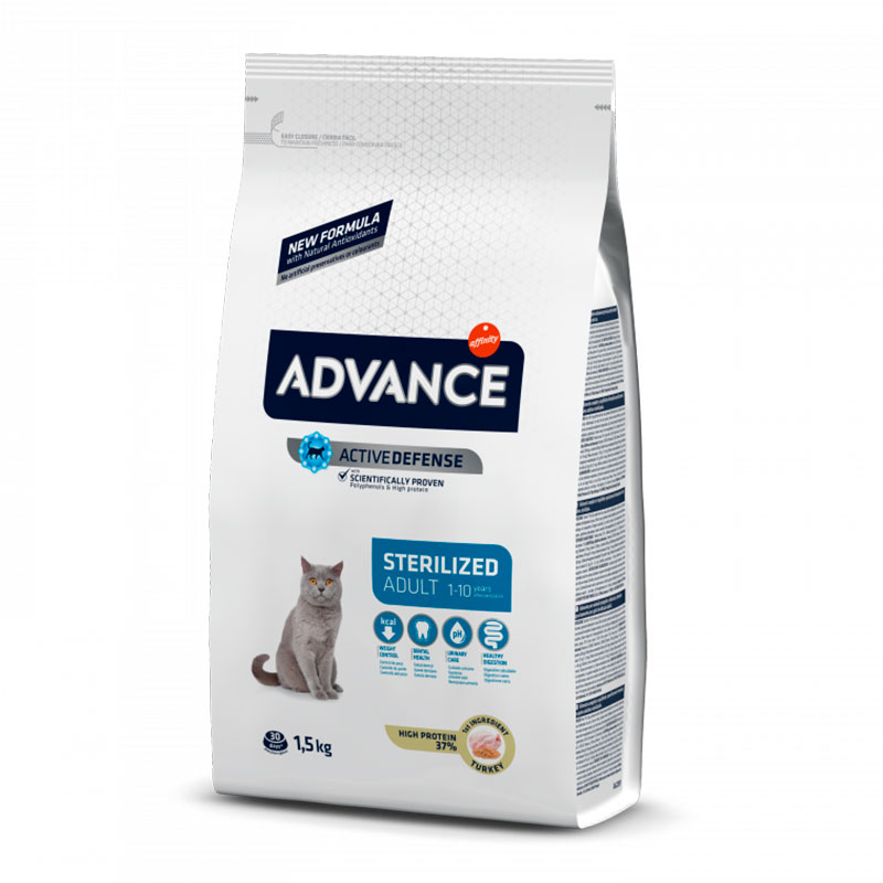 Advance Gato Sterilised Pavo y Cebada