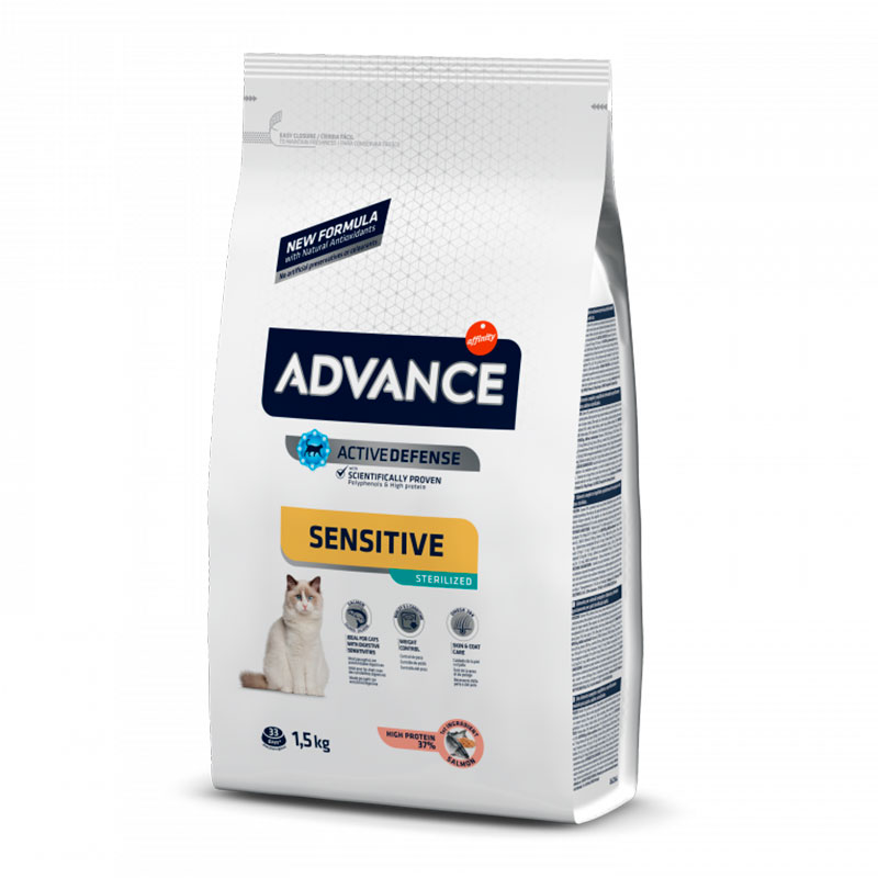 Advance Gato Sterilised Salmón y Cebada 10Kg