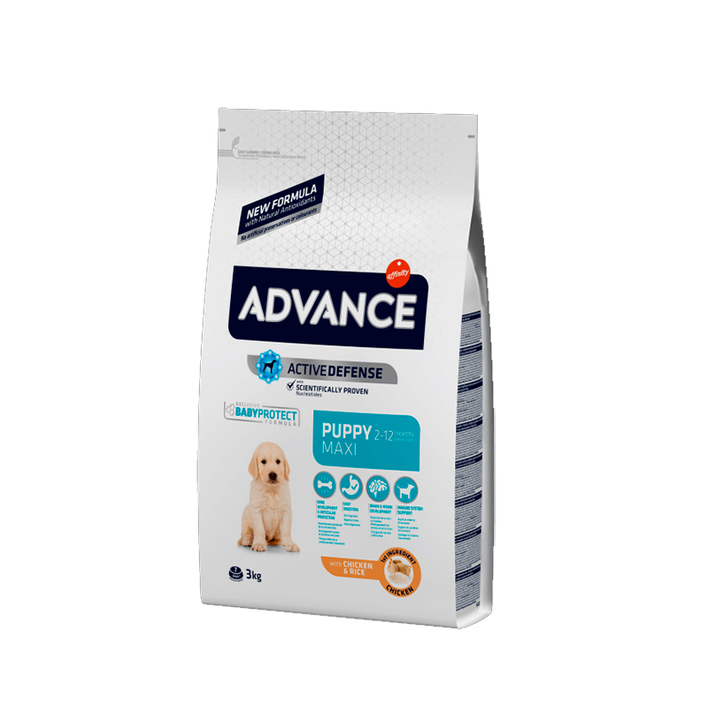 Advance Maxi Puppy Pollo y Arroz
