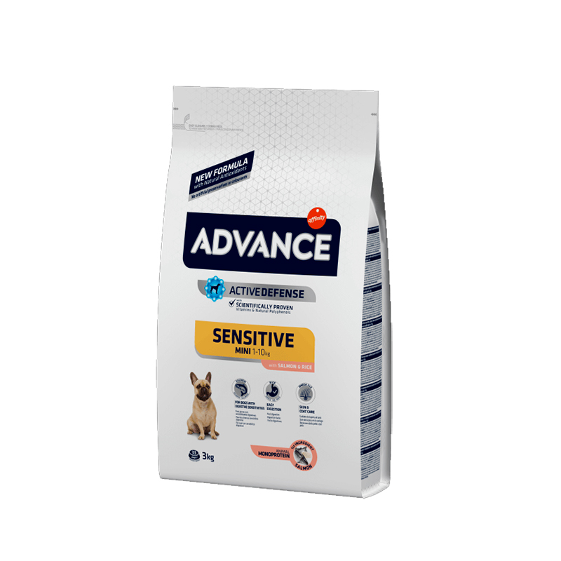 Advance Mini Adult Sensitive Salmón y Arroz