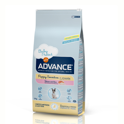 Advance Puppy Sensitive con Salmón 12Kg