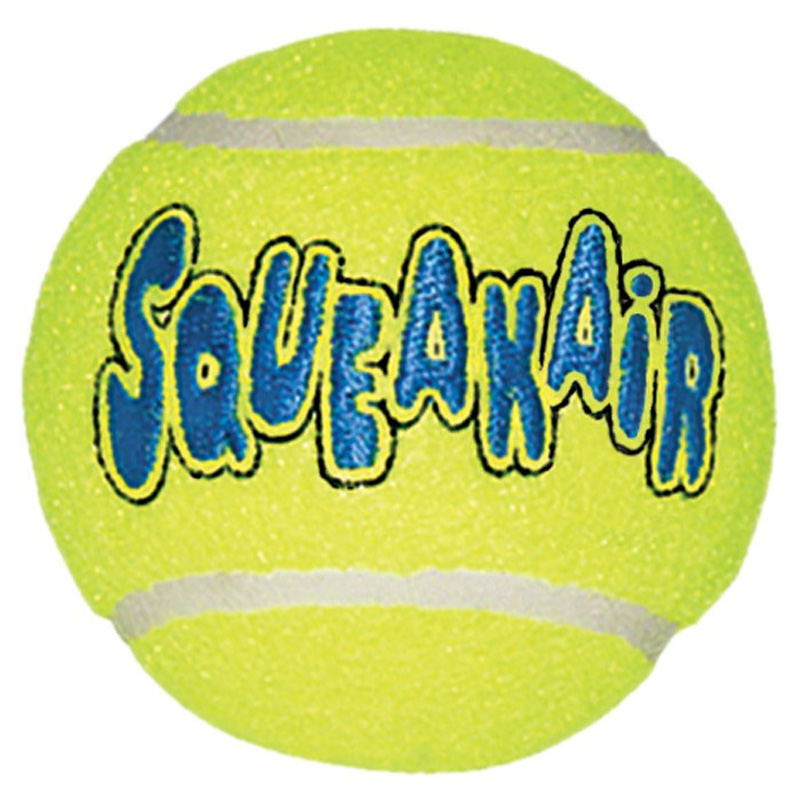 Air Kong Squeaker Tennis Ball  Large Dog Toy