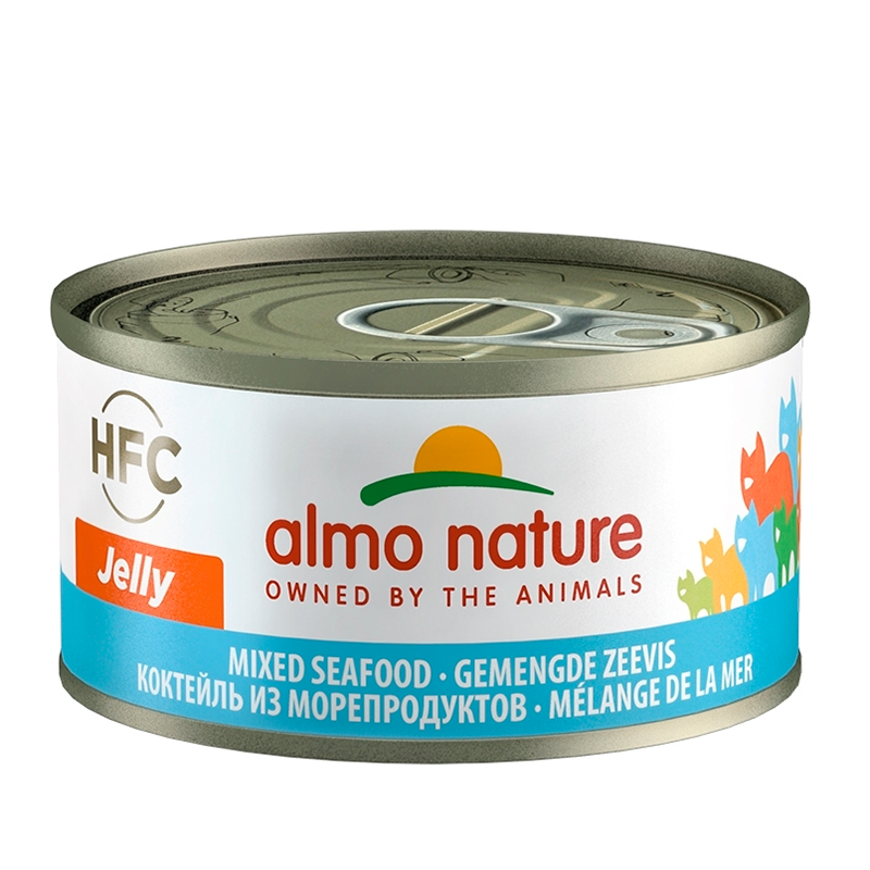 Almo Nature HFC Jelly Mix of Seefood Can for Cat
