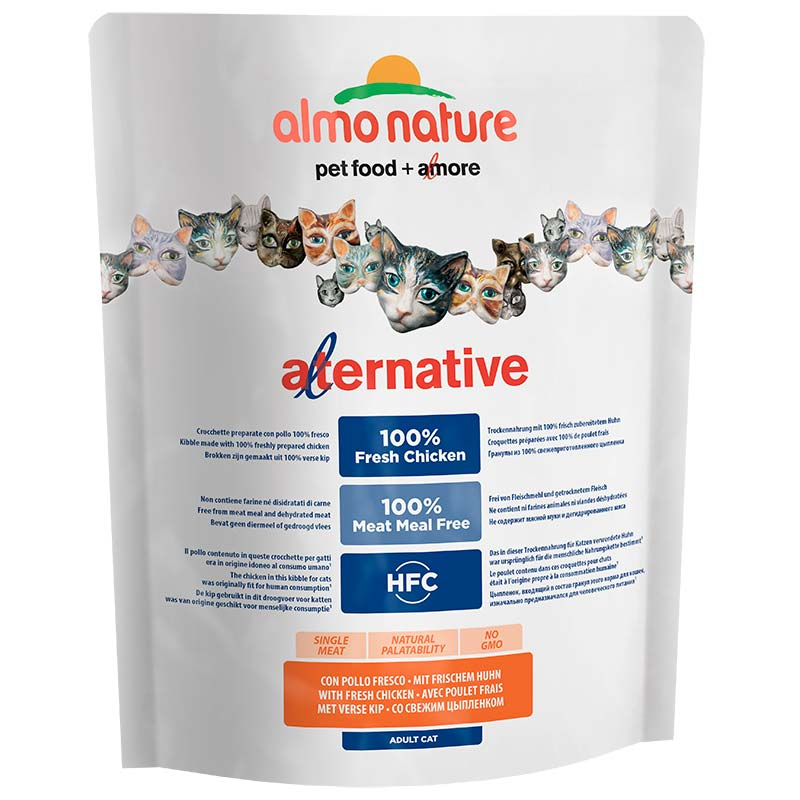Almo Nature HFC Alternative Adult Cat Fresh Chicken and Rice 750gr