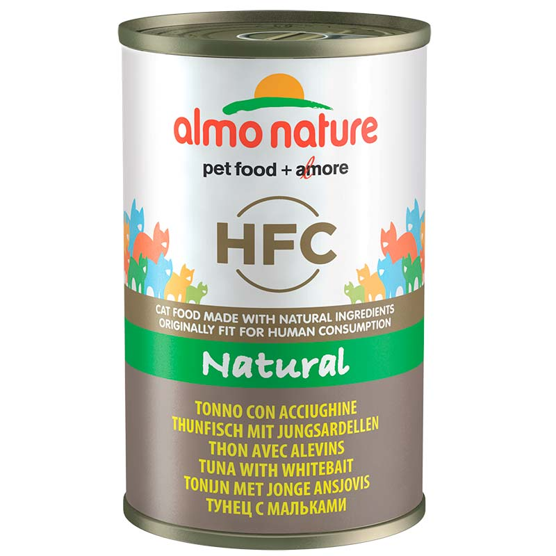 Almo Nature Classic with Tuna with White Bait  140gr. Wet cat food