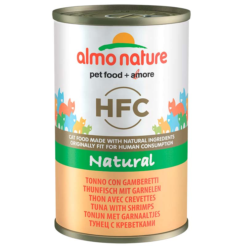 Almo Nature Classic with Tuna and Shrimps  140gr. Wet cat food