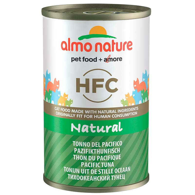 Almo Nature Classic with Pacific Tuna  140gr. Wet cat food