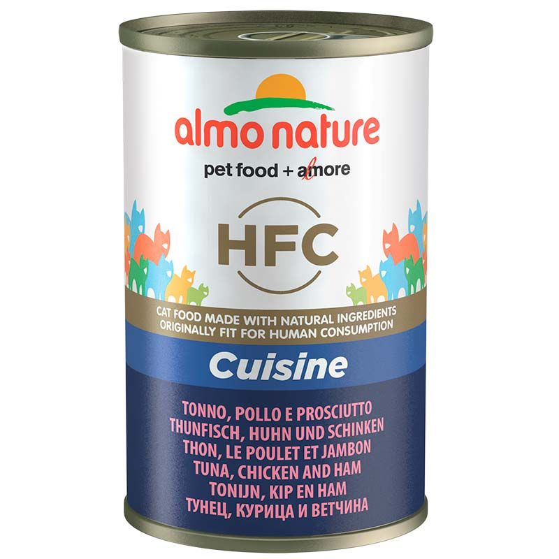 Almo Nature Classic with Tuna, Chicken and Ham  140gr. Wet cat food