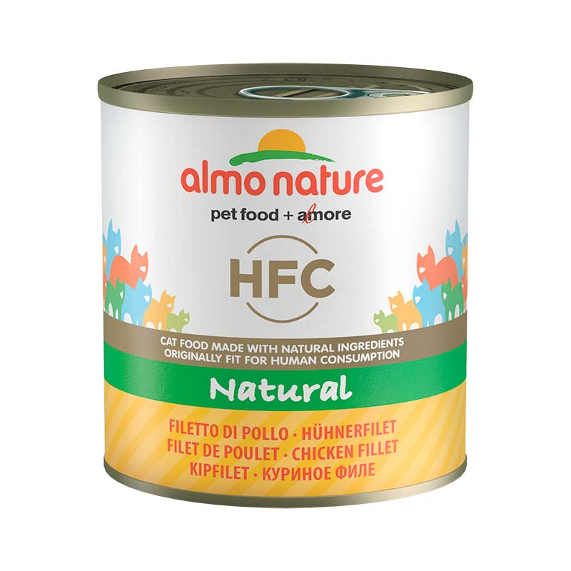 Almo Nature Classic with Chicken Fillet  11+1 x 280gr. Wet cat food