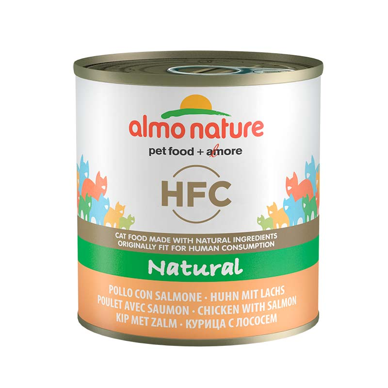 Almo Nature Classic with Chicken and Salmon  11+1 x 280gr. Wet cat food
