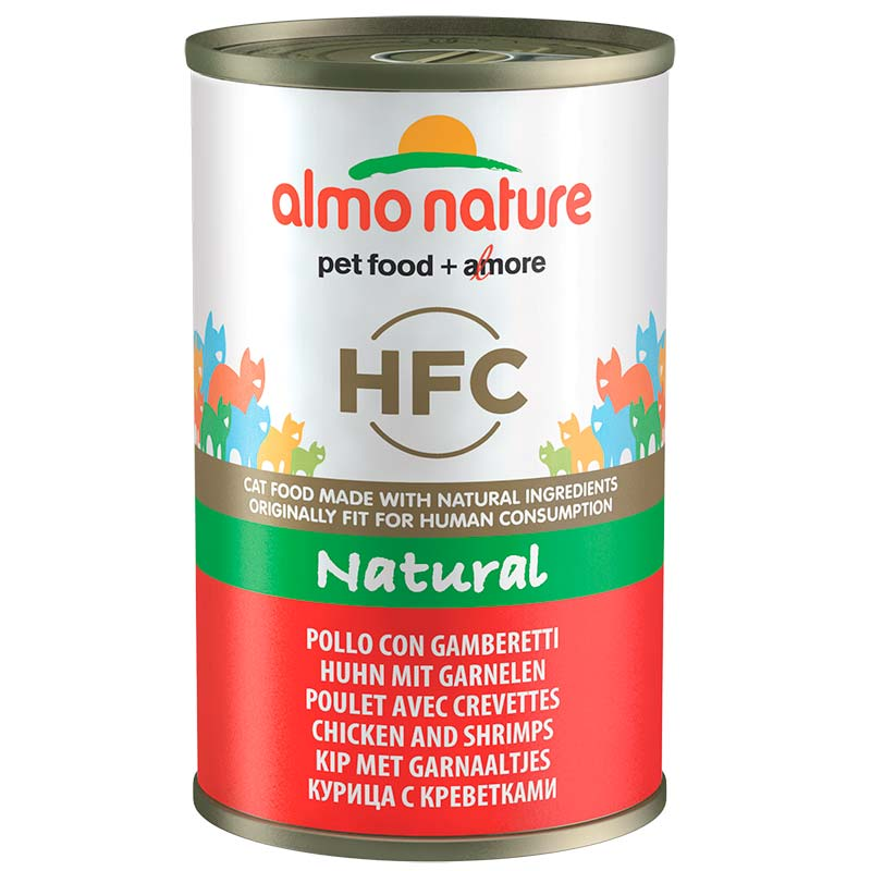 Almo Nature Classic with Chicken and Shrimps  140gr. Wet cat food