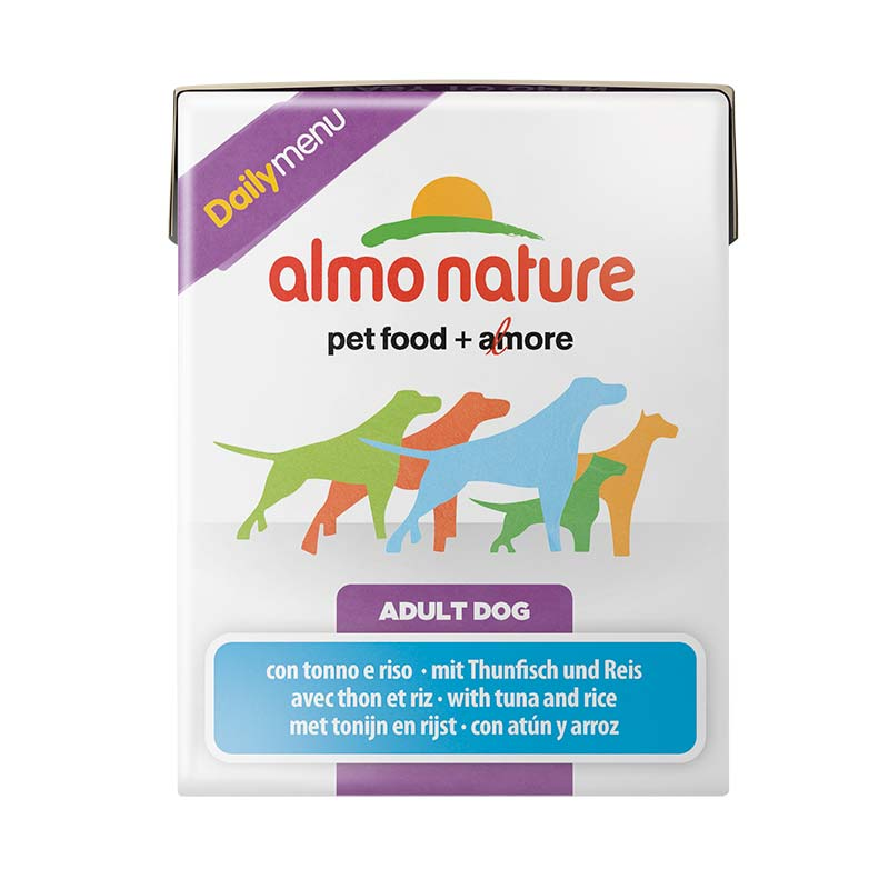 Almo Nature DOG Daily Menu Atún y Arroz 375 GR