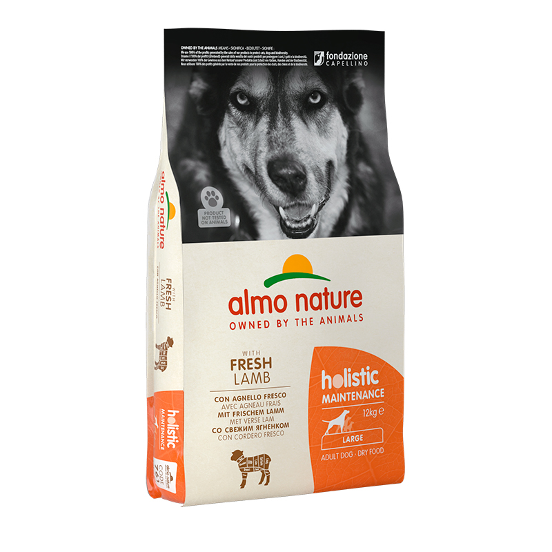 Pienso Almo Nature Holistic Large Dog con Cordero 12kg