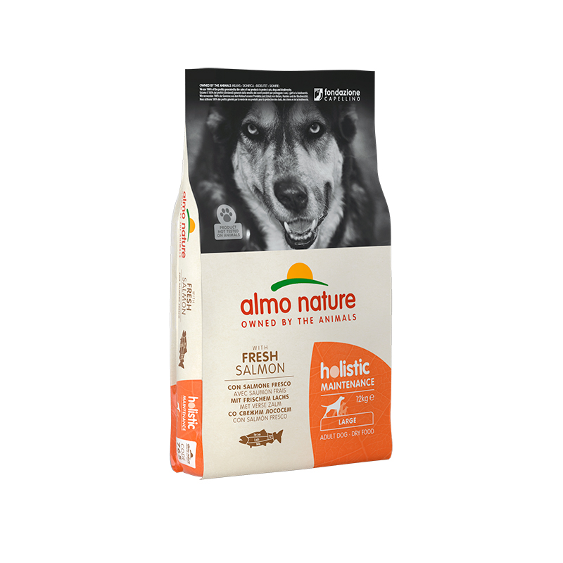 Pienso Almo Nature Holistic Large Dog con SPienso Almon 12kg