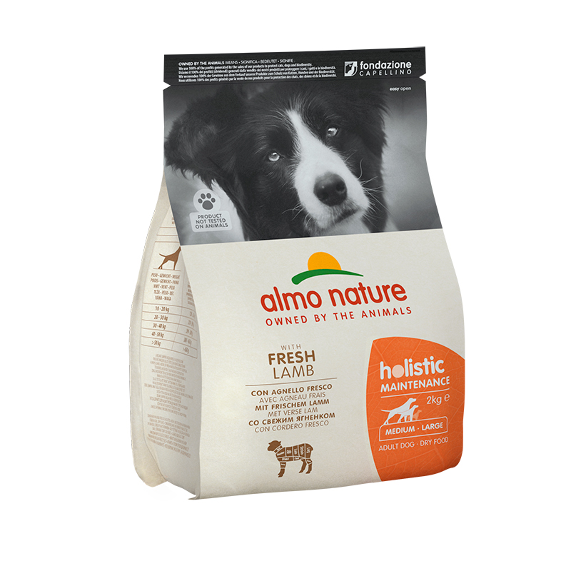 Pienso Almo Nature Holistic Medium Dog con Cordero y Arroz