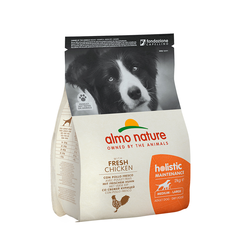 Pienso Almo Nature Holistic Medium Dog con Pollo y Arroz