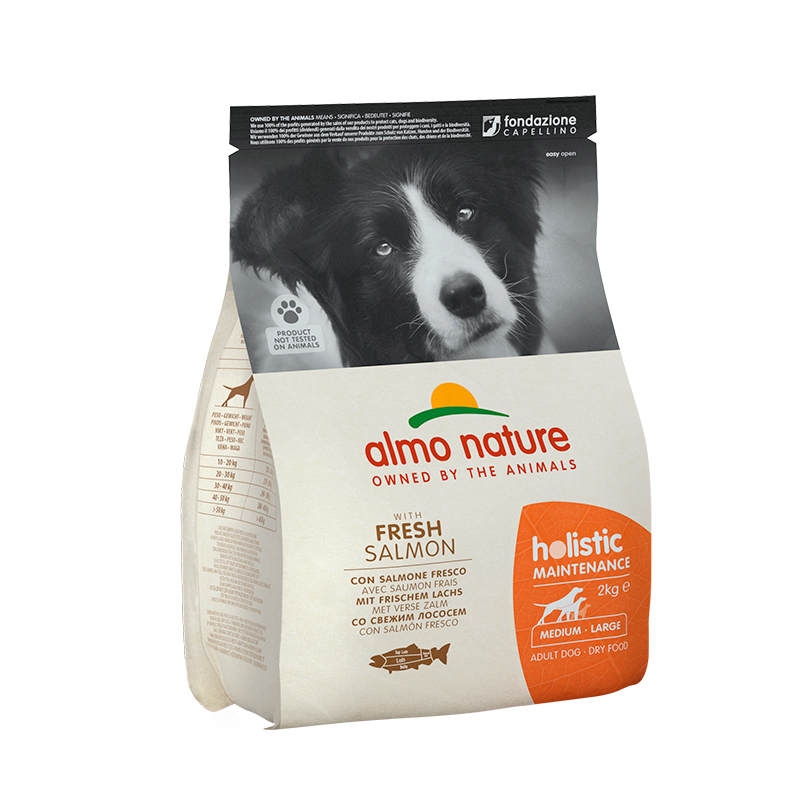 Pienso Almo Nature Holistic Medium Dog con Salmón y Arroz