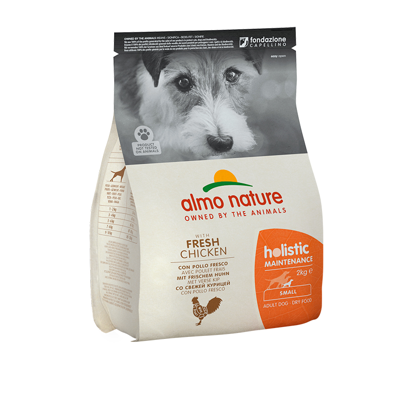 Pienso Almo Nature Holistic Small Dog con Pollo y Arroz