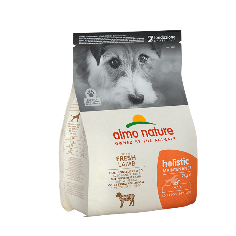 Pienso Almo Nature Holistic Small Dog con Cordero y Arroz