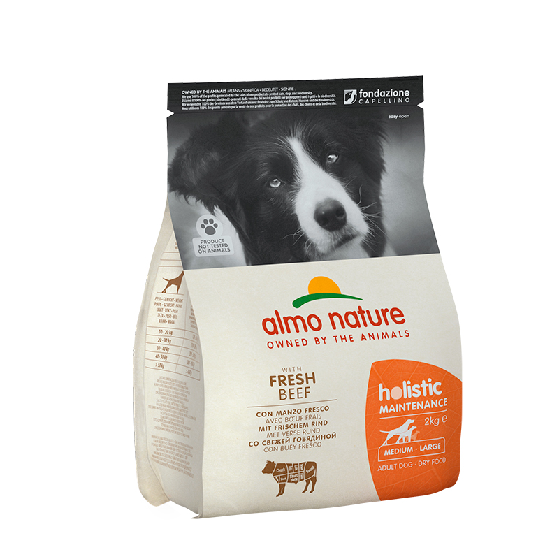 Pienso Almo Nature Holistic Medium Dog con Buey y Arroz